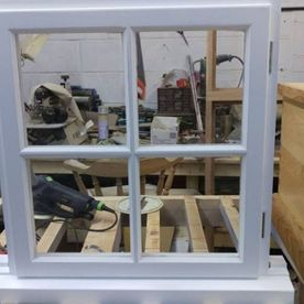joiners horsham, window frame, workshop