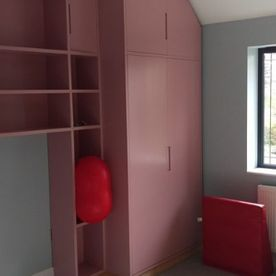 joiners horsham, pink wardrobes